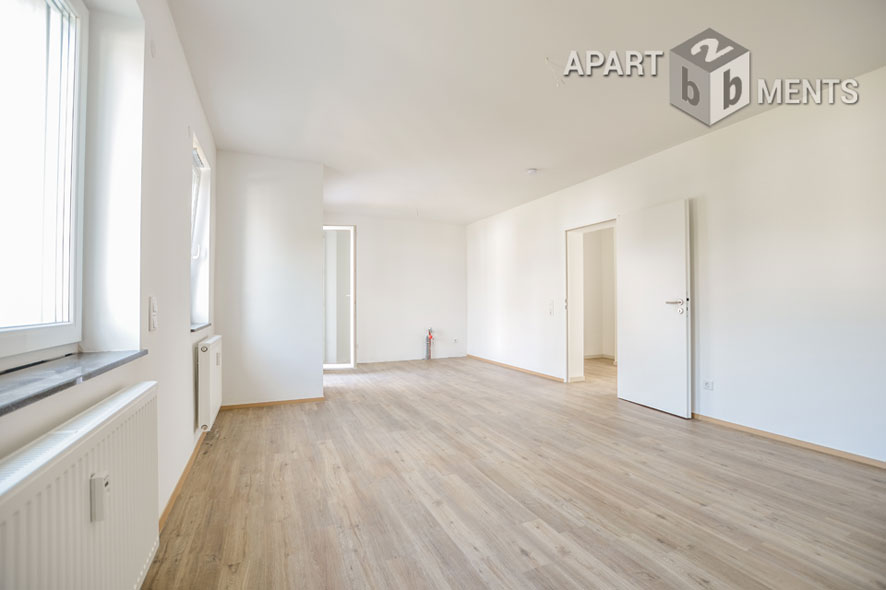 Bright 2 rooms apartment with balcony in Wesseling - Unfurnished - Brand new