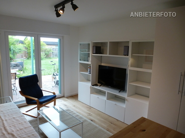 Furnished apartment with own entrance in a bungalow in Pulheim