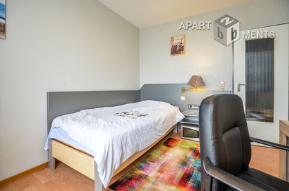 Functionally furnished apartment with balcony in Cologne-Zollstock