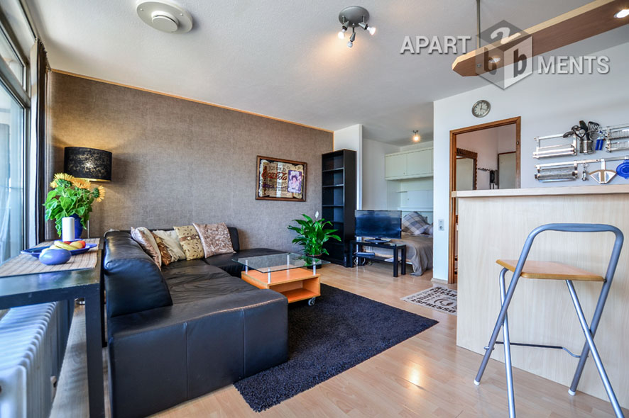 Universitätsnahes und gehoben möbliertes Apartment in Köln-Sülz