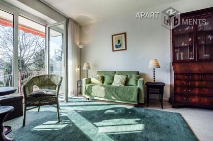 Möblierte und zentral gelegene Wohnung in Köln-Lindenthal