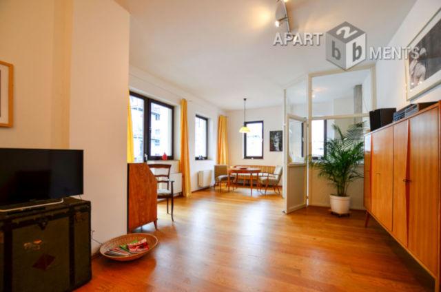 Ruhige und elegant möblierte City-Wohnung in Köln-Neustadt-Nord