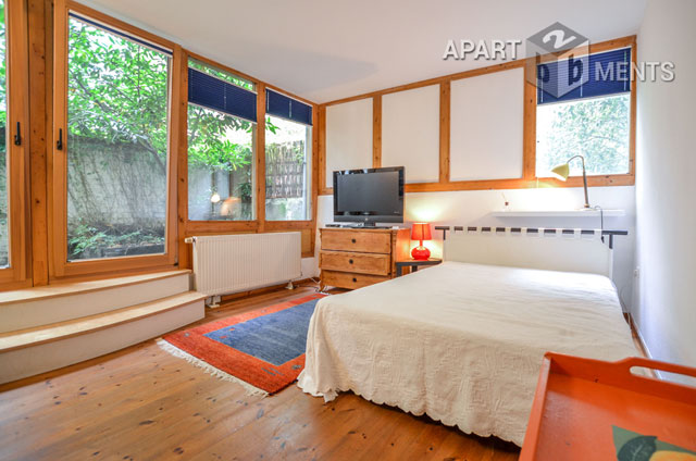 Gut gelegenes und sehr gepflegtes möbliertes Apartment in Köln-Nippes