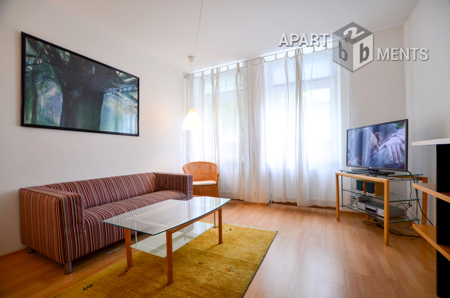 Modernly furnished apartment in Cologne-Nippes