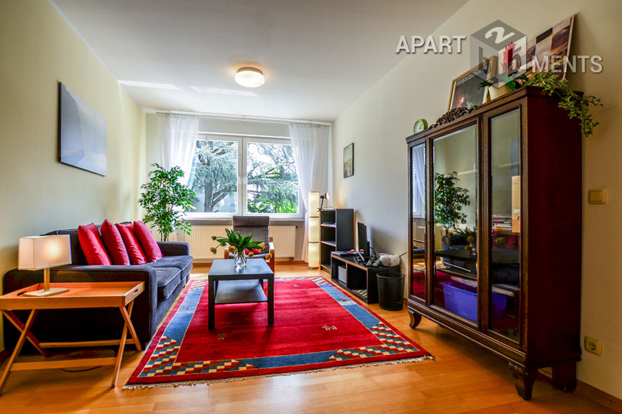Modern möblierte und ruhig gelegene Wohnung in Köln-Neuehrenfeld
