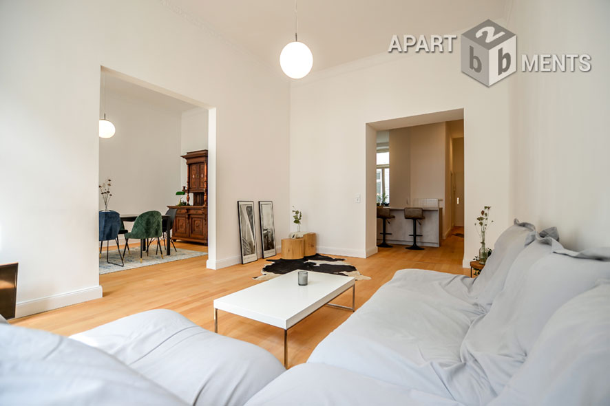 Stylishly furnished apartment in Cologne-Neustadt-Süd