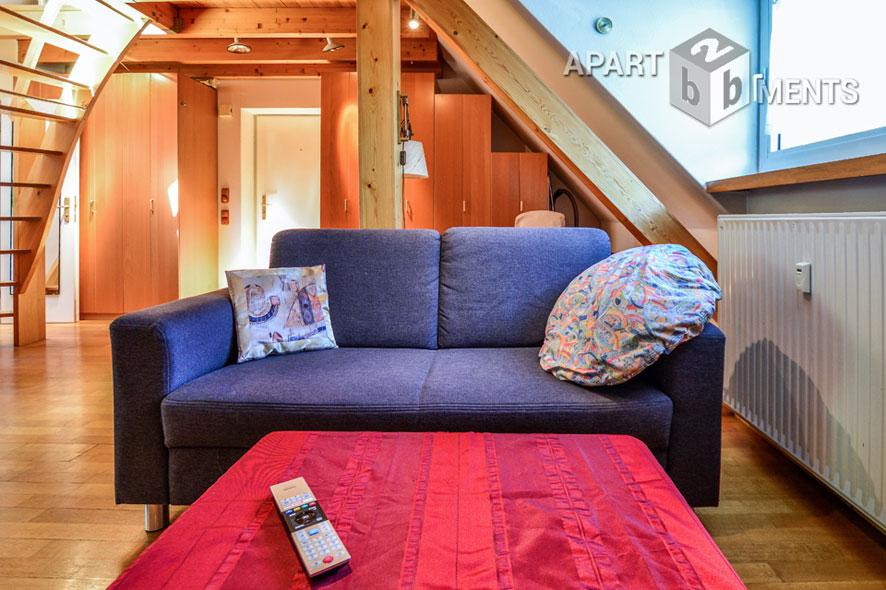 Kleine möblierte Maisonette Wohnung im zentrumsnahen Köln-Sülz