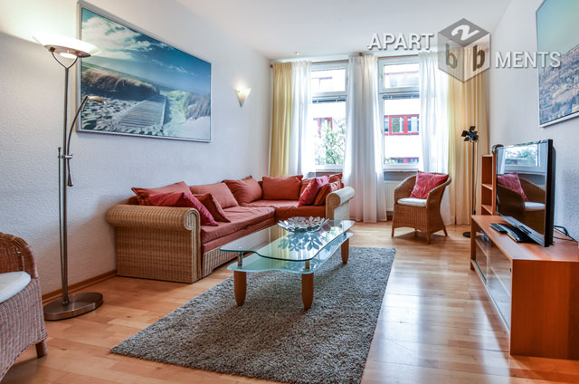 Modern möblierte 3 Zimmerwohnung der gehobenen Kategorie mit Balkon