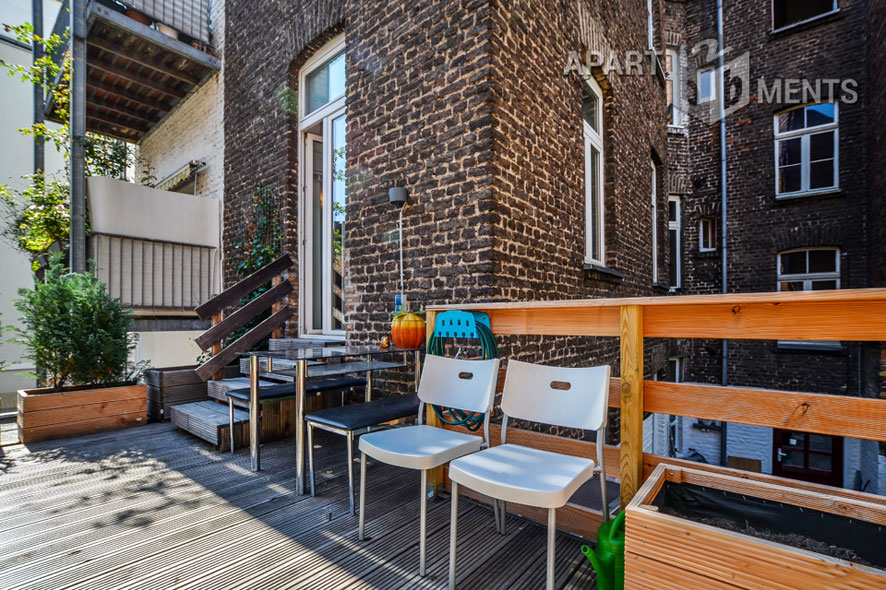Hochwertige und modern möblierte Wohnung in Köln-Nippes