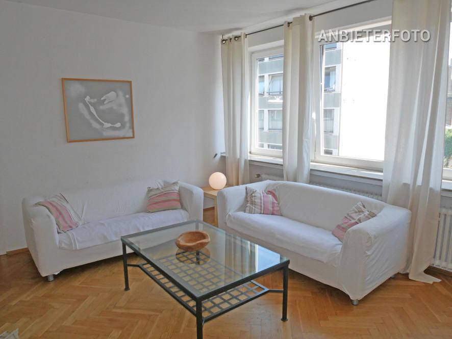Möblierte Wohnung mit Balkon in Köln-Neustadt-Nord