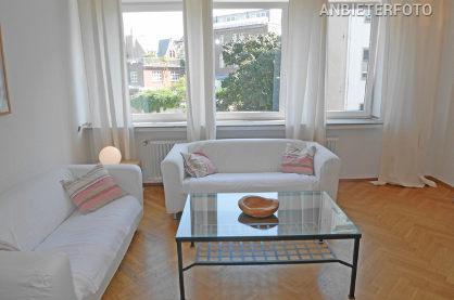 3 Zimmer Wohnung mit Balkon in erstklassiger City-Lage im belgischen Viertel