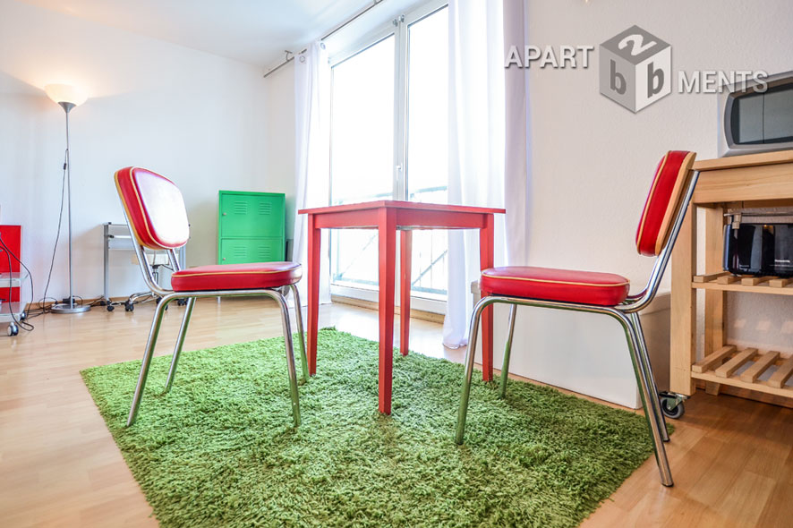 Hochwertig möbliertes Apartement in Köln-Lindenthal
