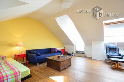 Modernly furnished maisonette apartment in Cologne-Neustadt-Süd