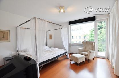Gehoben möblierte und zentral gelegene Wohnung im Belgischen Viertel