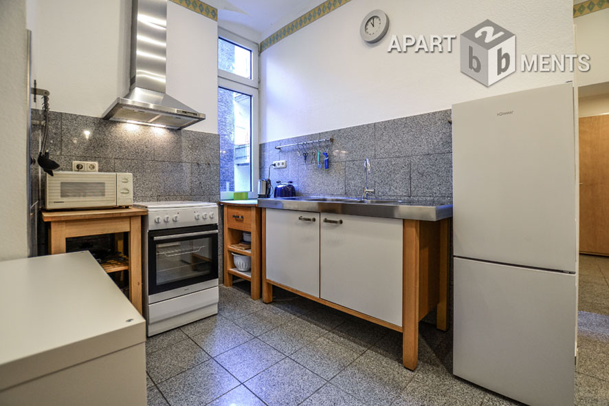 Modernly furnished apartment in Cologne-Neustadt-Süd