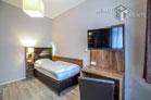 Funktionell möbliertes und gepflegtes Einzelzimmer auf Gästeetage in Köln-Brück