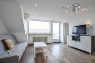 Modernly furnished apartment with large roof terrace in Cologne-Niehl