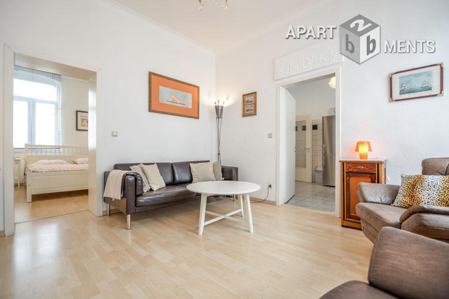 Modern möblierte und helle Wohnung in Köln-Neustadt-Süd