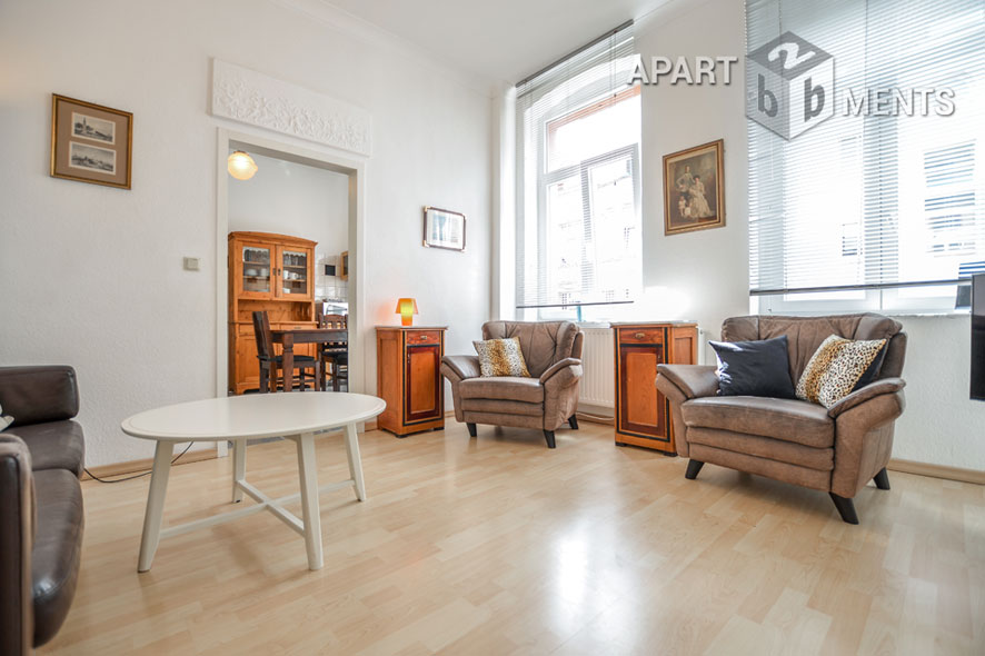 Modernly furnished and bright apartment in Cologne-Neustadt-Süd