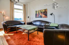 Furnished 4-room apartment in Cologne-Mülheim with panoramic view of the Rhine