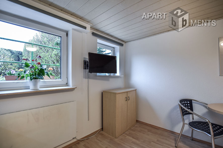 Functionally furnished and quiet apartment in Cologne-Höhenhaus