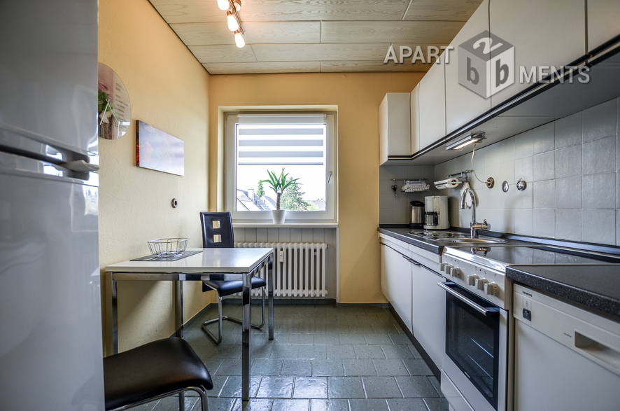 Hochwertig möblierte helle und ruhige Wohnung in Leverkusen-Küppersteg