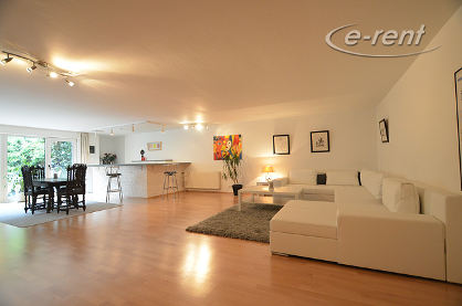 Modernly furnished and quiet apartment with a terrace in Cologne-Hahnwald