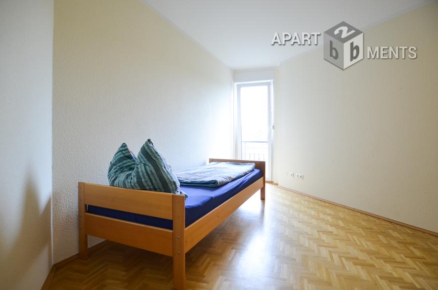 Ruhige möblierte Wohnung in Köln-Raderberg in der Nähe eines Parks