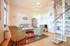 Zeitlos möblierte und ruhig gelegene Maisonettewohnung in Köln-Nippes