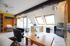 Modernly furnished open-plan apartment in Cologne-Urbach