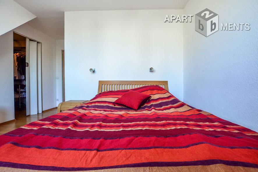 Modern möblierte Wohnung mit drei Balkonen in Köln-Altstadt-Nord