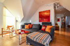 Modernly furnished apartment with three balconies in Cologne-Altstadt-Nord