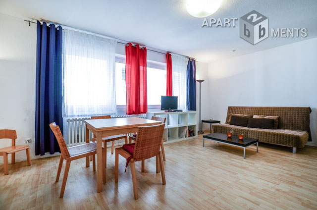 2 room apartment in a quiet city location