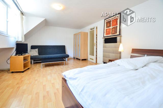 1 Zimmer-Apartment mit separater Wohnküche in ruhiger City-Lage