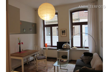 Charming and furnished old building apartment in the heart of Cologne-Deutz