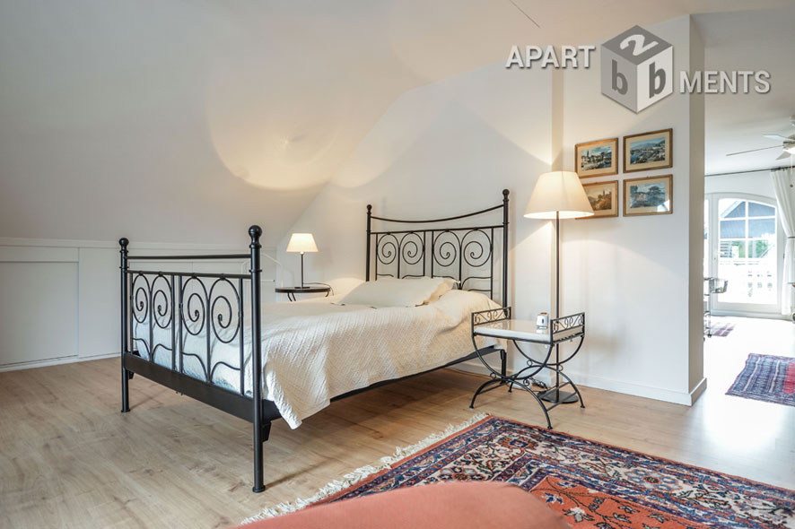 Maintained and furnished loft in Pulheim-Brauweiler