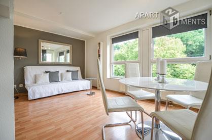 Moderne und sehr gut ausgestattete möblierte Wohnung in Köln-Lindenthal
