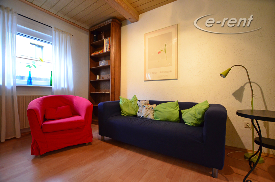 Furnished and quiet maisonette apartment with garden in Cologne-Bickendorf