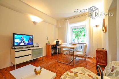 Modern möblierte Wohnung in Köln-Sülz