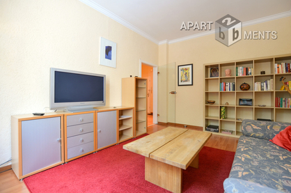 High-quality furnished and centrally located apartment in Cologne Neustadt-Süd