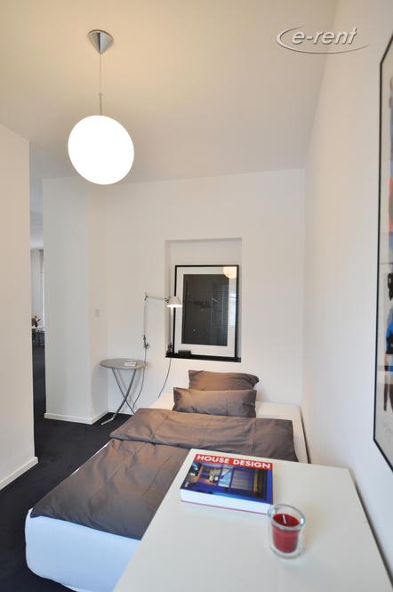 Moderne und hochwertig möblierte Wohnung mit Parkblick in Köln-Altstadt-Nord
