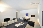 Modern and high quality furnished apartment with park view in Cologne-Altstadt-Nord
