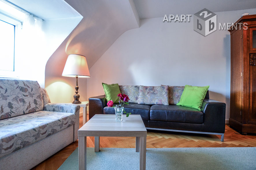 Modernly furnished and quietly situated apartment in Cologne-Braunsfeld