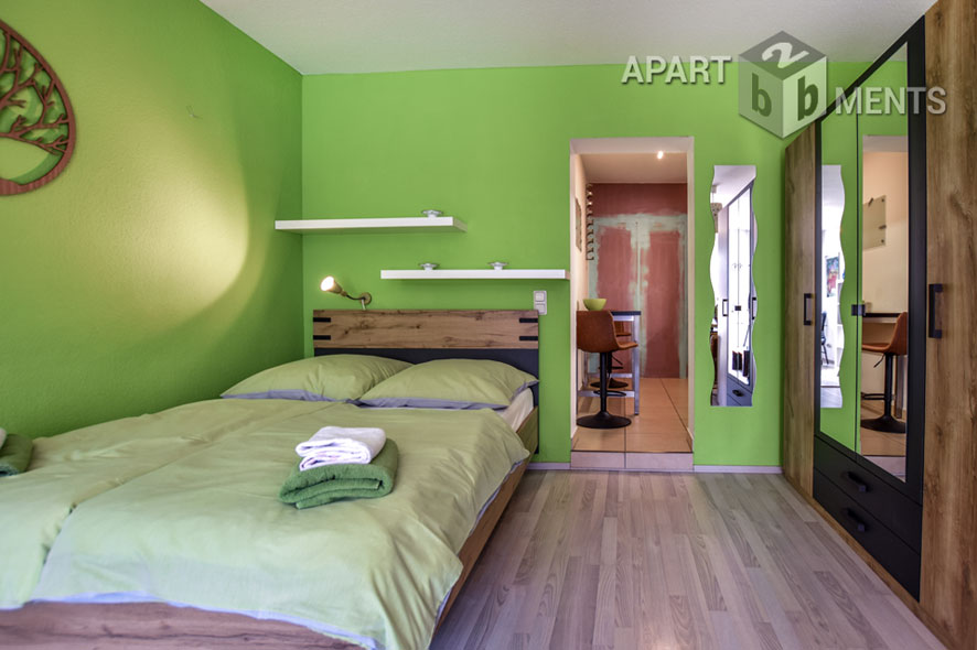Modern möbliertes und verkehrsgünstig gelegenes Apartment in Bergisch Gladbach