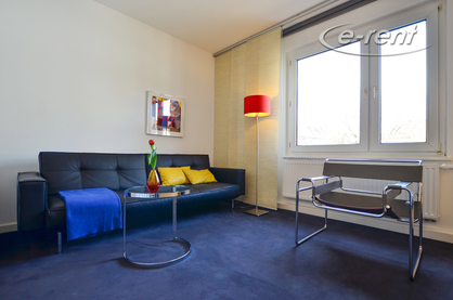 High-quality furnished and centrally located apartment in Cologne-Neustadt-Nord