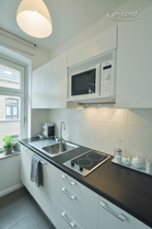 Modernly furnished apartment in quite location in Cologne-Deutz