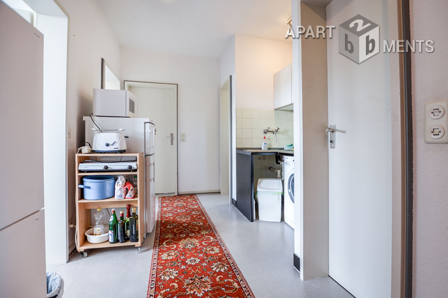 Furnished 2-room-unit with private bathroom in Sankt Augustin