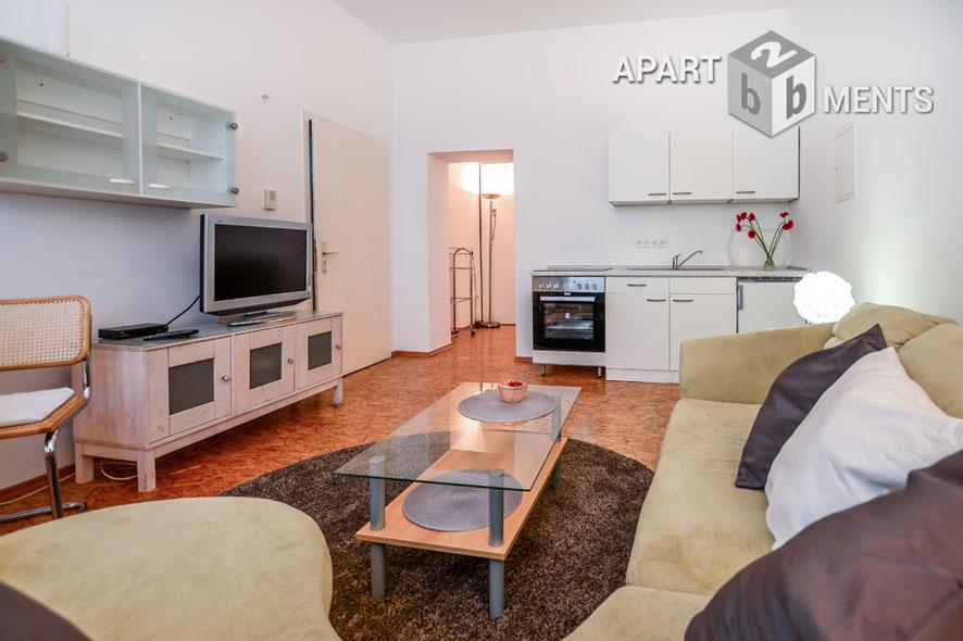 Modern möblierte und zentral gelegene Wohnung in Köln-Altstadt-Süd