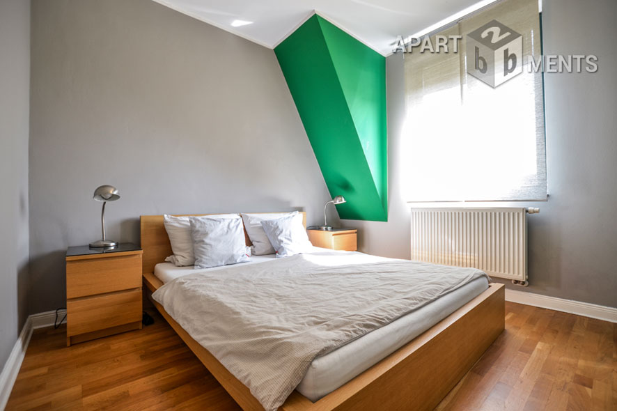 High quality furnished and centrally located apartment in Cologne-Neustadt-North