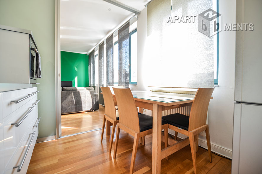 Hochwertig möblierte und zentral gelegene Wohnung in Köln-Neustadt-Nord